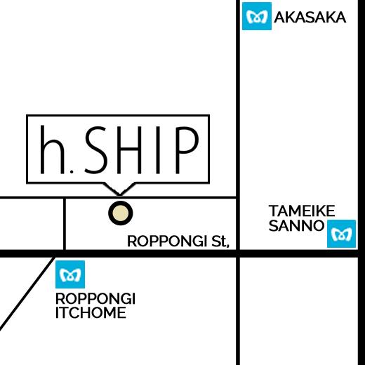 サロンの地図
